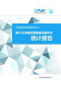第31次中国互联网络发展状况统计报告