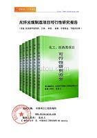 光纤光缆制造项目可行性研究报告(_立项模板)