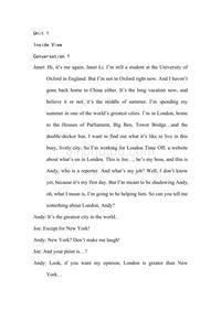 新标准大学英语_视听说教程3 (听力原文及翻译)