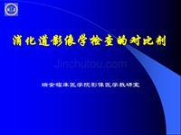 消化道影像學檢查的對比劑-醫學影像學(上海交通大學醫學院)
