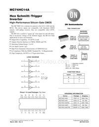 电脑IC资料 MC74HC14A