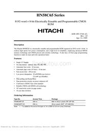 电脑IC资料 HN58C65P-25