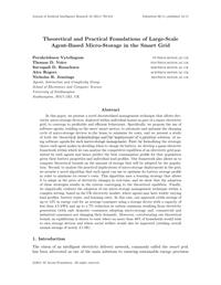 Theoretical and Practical Foundations of Large-Scale