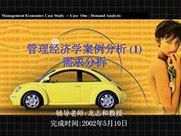 中国市场国产轿车需求分析