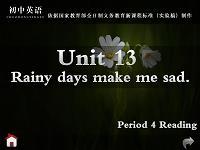 人教版九年级英语unit13 period4