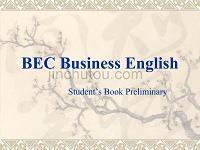 BEC商务英语Module 1