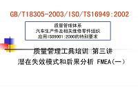 汽车零部件供应商行业标准1