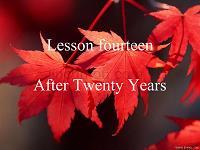 现代大学英语精读1—lesson14