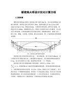 新密地大桥设计优化计算介绍
