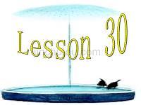 小学一年级英语《Lesson 30》
