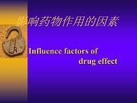 4-影响药物作用的因素幻灯片